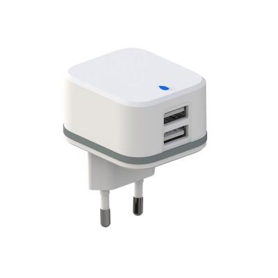 CARGADOR  2 USB 5V-2.4A+1A...