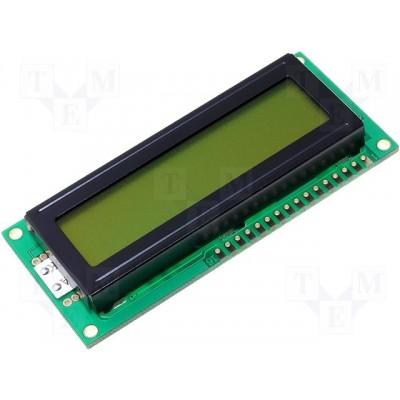 DISPLAY LCD 2X16 LED VERDE