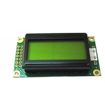 DISPLAY LCD 2X8 LED VERDE